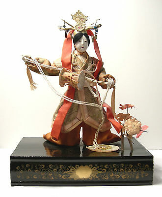 Antique Japanese Doll - Meiji Period/Taisho- Adventures of the Imperial Court