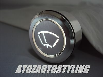 Savage Latching Push Button WIPERS Switch WHITE LED <<NEW>>