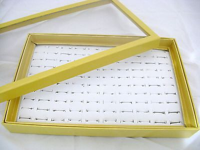 1 x Quality Used 100 Ring Display Box in Good Condition