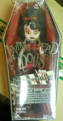 Living Dead Dolls series 5 JEZEBEL doll/figure in Coffin-MIB-Sealed