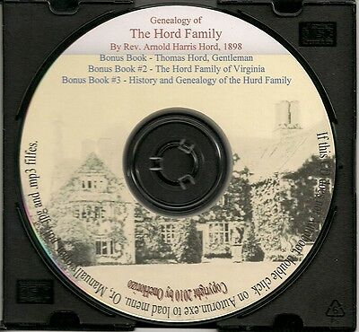 Genealogy of the Hord Family in America - Family Genealogy -
