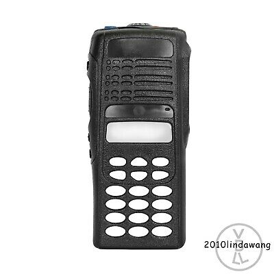 Black Replacement Repair Full-keypad Case Housing For Motorola HT1250 Radios