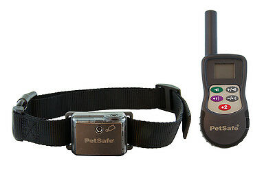 PETSAFE REMOTE 275m METRE CITRONELLA SPRAY DOG PUPPY TRAINING AID TRAINER COLLAR