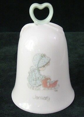 Precious Moments - 1987 - January - Porcelain - Bell
