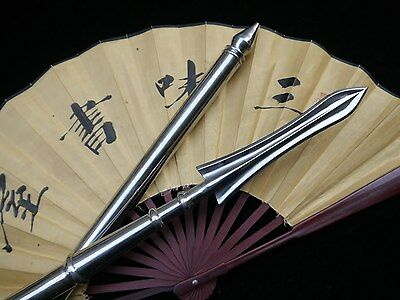 Overall stainless steel production folding a pike Chinese martial arts equipmet