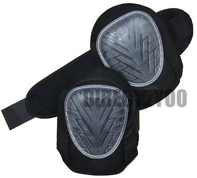 Rolson GEL KNEE PADS Caps Cups Strap Professional industrial strength heavy duty