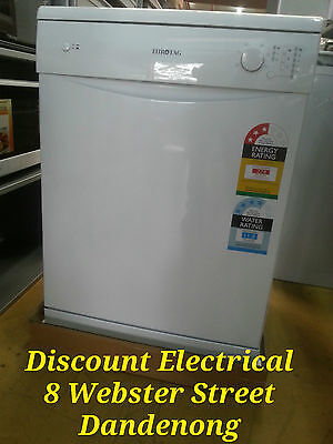 EUROTAG WHITE DISHWASHER RRP$699  warranty 1yr -Extended warranty also available