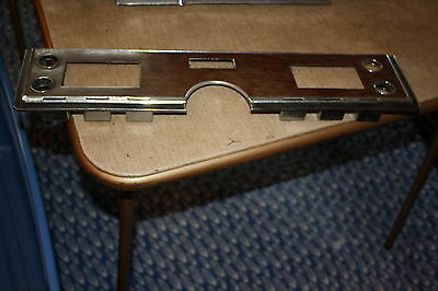 1969 Lincoln Coupe Climate Controls Radio Bezel Woodgrain C8VF-10A855 X141