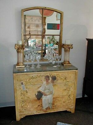 How to Decoupage and Paint Romantic Vintage Furniture Lesson on CD with Video