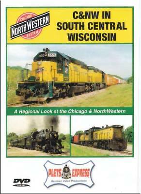 Chicago & North Western Railroad in South Central Wisconsin DVD NEW Plets C&NW