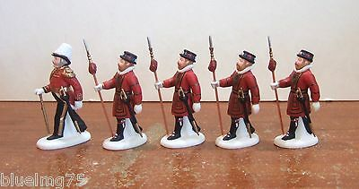 Dept 56 Dickens Village Yeomen of the Guard #58397 NIB (Y352)