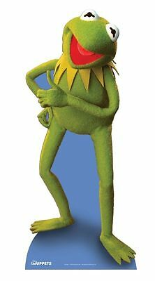 KERMIT THE FROG LIFESIZE CARDBOARD CUTOUT STANDEE STANDUP muppets disney movie