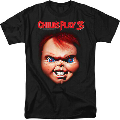 Child's Play 3 Chucky Licensed Adult T Shirt
