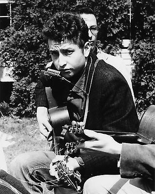 "Young BOB DYLAN - 8""x10"" B&W Photo"