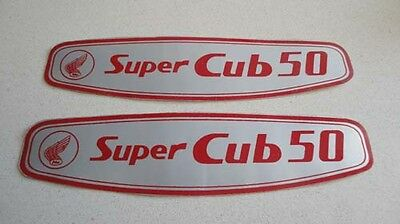 Honda C50 C100 C102 C105 Super Cub gas tank decals stickers logos emblems H2407