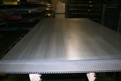 Perforated Mild Steel, 1/8 inch hole, 11 gauge, 60 X 120 inch  42% open area