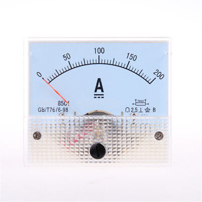 Analog AMP Panel Meter Gauge DC 0-200A 85C1