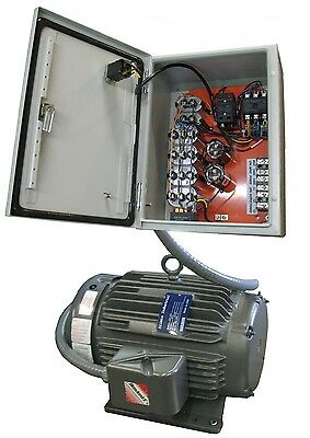 Elimia Heavy Duty Rotary Phase Converter 10 HP 10HP Complete No Hidden Cost