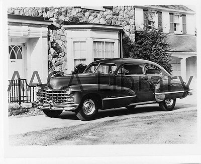 1947 Cadillac Series 62 Club Coupe, Factory Photo (Ref. #30121)