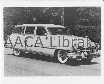 1951 Cadillac Coachcraft Station Wagon, Factory Photo (Ref. #30201)