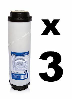 "3 x activated carbon filter 10"",water filter,Reverse osmosis,RO. FCCA"