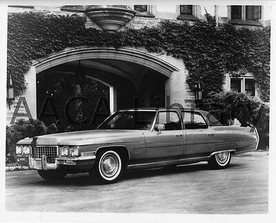1971 Cadillac Sixty Special Brougham, Factory Photo (Ref. #30602)