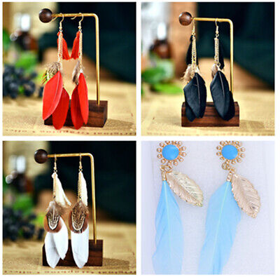 Boho  / dream catcher style feather Earrings, multiple choices