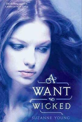 A Want So Wicked by Suzanne Young Hardcover Book (English)