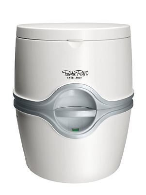 Thetford Porta Potti Excellence Manual Portable Caravan Camping  Toilet White