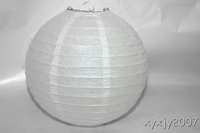 """10 White Chinese  Paper Lanterns 8"""" For Wedding or Party"""
