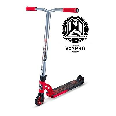 New 2017 Madd Gear Mgp Vx7 Pro Complete Kids Scooter Red/black - Free Shipping