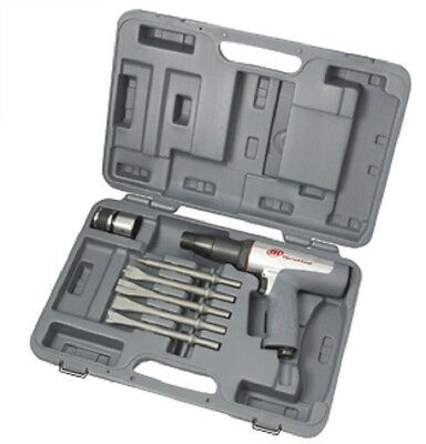 Ingersoll Rand 118MAXK Long Barrel Air Hammer Kit with Chisels
