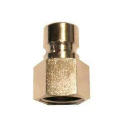 "High Flow 10mm Quick Connect Male Plug x 1/2"" Female NPT Homebrew Beer"