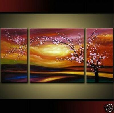 Pure hand-drawn !MODERN ABSTRACT HUGE WALL ORNAMENTS CANVAS OIL PAINTING