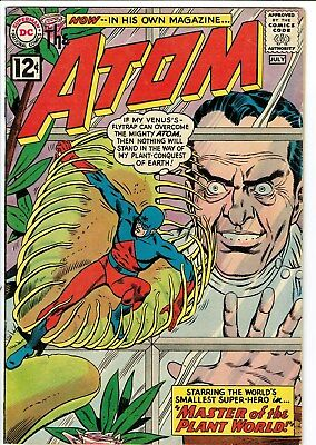 The Atom #1 VG 1962  restored Gil Kane Comic ; Signed by Gil Kane?