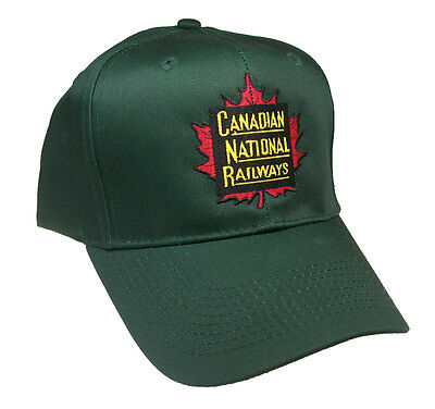 Canadian National Railroad Embroidered Cap Hat #40-1445G