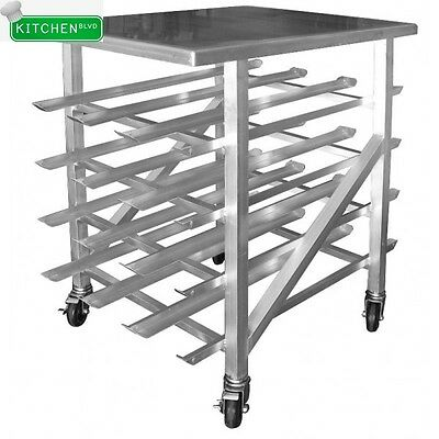 """Mobile Counter Top Aluminum Can Rack 25""""W x 35""""L x 41""""H"""