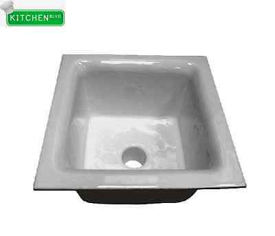 "Floor Sink. 12""x12""x6"". 3"" Drain w/ Dome Strainer"