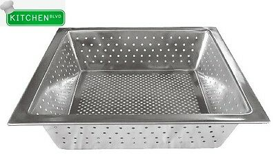 "Stainless Steel Floor Sink Basket 10"" x 10"" x 3"""