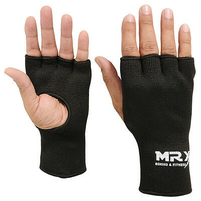 Mrx Inner Gloves Fist Protective Hand Wraps Muay Thai Boxing Martial Arts Black