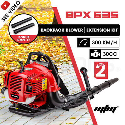 NEW MTM 30CC Backpack Petrol Leaf Blower 2 Stroke Commercial Garden Yard Outdoor