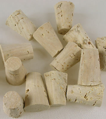 5 x Tapered Cork Bung Stopper Bottle size 00