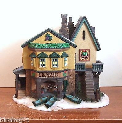 Dept 56 The Grapes Inn 5th Edition #57534 Signed By Jeanne-Marie Dickens (Y135)