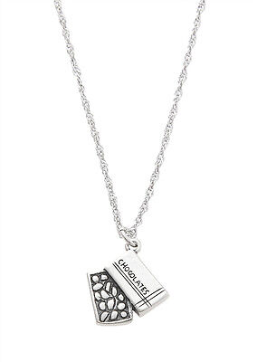 STERLING SILVER AMERICAN WOLF CHARM WITH THIN SINGAPORE NECKLACE