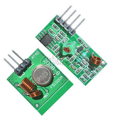 5Pcs 433Mhz RF transmitter and receiver link kit for Arduino/ARM/MCU WL