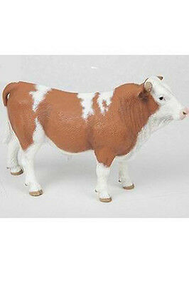 Papo Simmental Bull Farm Animal Toy Figure cow Pretend Play 51142 NEW