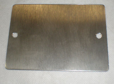 """coverplate, 3 1/8"""" x4 3/8"""" stainless, 5001996-038"""