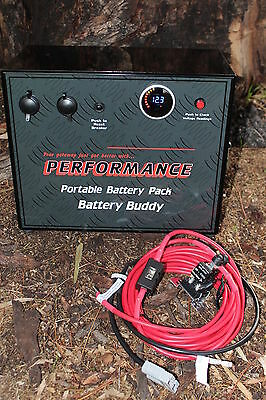 Dual Battery System Battery Box 12V Agm Portable Camper Trailer Car Fridge With
