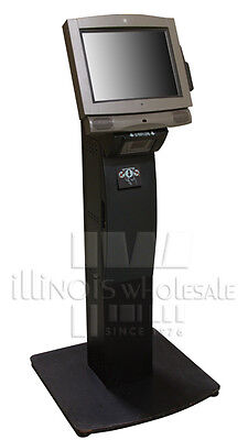 NCR 7401-2691 Complete Kiosk with Fixed-Angle Mount, Printer & Stand