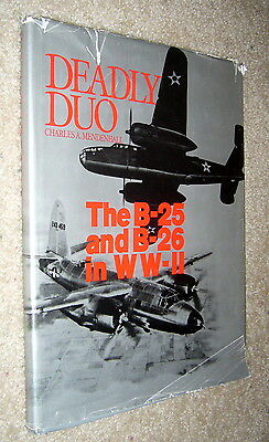 Deadly Duo B-25 B26 in WWII,Mendenhall,VG-/POOR,HB,1981,First  A